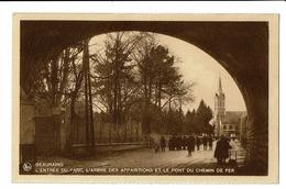 CPA - Carte Postale - BELGIQUE -Beauraing - Entrée Du Parc -L'Arbre Des Apparitions-S2761 - Beauraing
