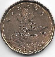*Canada 1 Dollar   2004  Km 513  Unc /ms63 - Canada