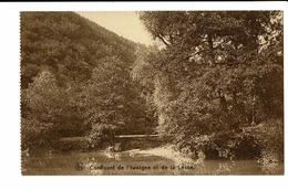CPA - Carte Postale - BELGIQUE -Confluent De La Lesse Et De L'Iwoigne -S2762 - Rochefort