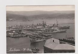 LA SPEZIA, Porto - F.G. - Anni '1950 - La Spezia
