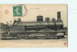 Cie Du Nord : Machine 4942 Trains Marchandises .  TBE. 2 Scans. Les Locomotives, Edition Fleury - Matériel