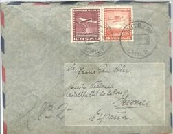 LETTER CERTIFICADA  FRUTILLAR 1952 - Chile