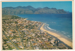 Aerial View Of The Long Beaches Of The Strand, Cape - (South Africa) - Zuid-Afrika