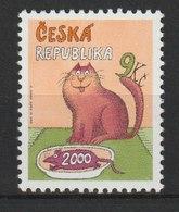 MiNr. 278 Tschechische Republik / 2000, 22. Nov. Letzte Tschechische Briefmarke Des Jahrtausends. - Tschechische Republik