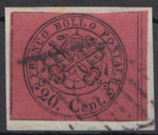 16, Bedarf Auf Kleinem Briefstück - Kirchenstaaten