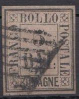 6, Vollrandig, Rhombus-Stempel - Romagna