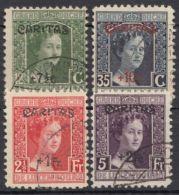 "148/51 ""Caritas"", 1924, Sauber Gestempelt - 1914-24 Marie-Adélaïde"