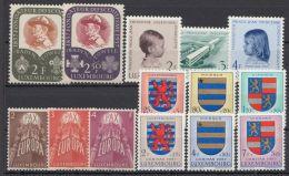 567/80, Jahrgang 1957 Komplett, ** - Luxemburg