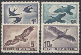 """984/7 """"Vögel"""", 1953, Alle Kleiner Falzrest, * - 1945-60 Ungebraucht"""