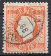 22, Farbfrisch, Gut Gestempelt - 1855-1858: D. Pedro V.