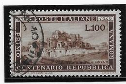 Italie N°537 - Oblitéré - TB - 1946-60: Gebraucht