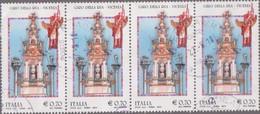 2014-Giro Della Rua(striscia Di 4) - 1946-.. République
