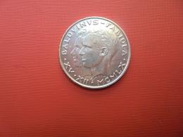 """Baudouin 1er. 50 Francs """"MARIAGE"""" 1960. ARGENT. - 1951-1993: Baudouin I"""