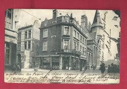 Liège. Exposition 1905. Grand Café Du Frigorifère. Rue De La Regence.  Carte Rare, Très Animée. Désiré Matop. - Liege
