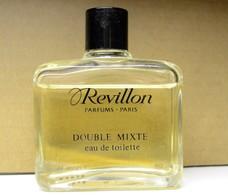 COLLECTOR Eau De Toilette DOUBLE MIXTE REVILLON 50 ML ENTAME - Miniatures Modernes (à Partir De 1961)
