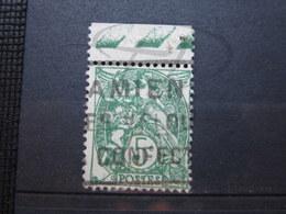 """VEND BEAU TIMBRE DE FRANCE N° 111 + BDF , CACHET """" AMIENS """" !!! - 1900-29 Blanc"""