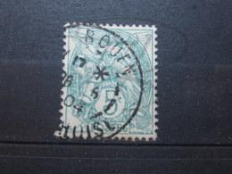 """VEND BEAU TIMBRE DE FRANCE N° 111 , CACHET """" ROUEN """" !!! - 1900-29 Blanc"""