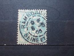 """VEND BEAU TIMBRE DE FRANCE N° 111 , CACHET """" RAMBOUILLET """" !!! - 1900-29 Blanc"""