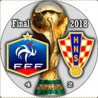 PIN FIFA WORLD CUP FINAL 2018 FRANCE Vs CROATIA - Fussball