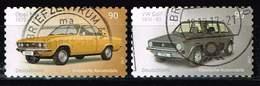 Bund 2017, Michel# 3301 - 3302 O Opel Manta Und VW Golf, Selbstklebend, Self-adhesive - Gebraucht