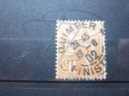 """VEND BEAU TIMBRE DE FRANCE N° 117 , CACHET """" QUIMPER """" !!! - 1900-02 Mouchon"""