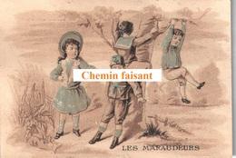 Chromo REUCHEIN Chapeaux Châlons-sur-marne - Les Maraudeurs -  Scans Recto-verso - Autres