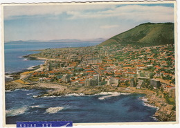 Aerial View Of Bantry Bay, With Sea Point - Cape Town - (South Africa) - Lugfoto - (1969) - Zuid-Afrika