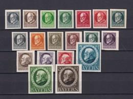 Bayern - 1920 - Michel Nr. 94/115 B - Bayern