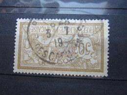 """VEND BEAU TIMBRE DE FRANCE N° 120 , CACHET """" PARIS - R. DES CAPUCINES """" !!! - 1900-27 Merson"""