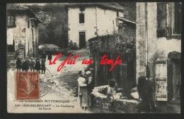 87 ROCHECHOUART - Le Faubourg De Gorre - TOP RARE - Rochechouart