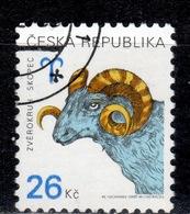 CZ+ Tschechei 2003 Mi 349-50 Tierkreiszeichen, Ostern - Czech Republic