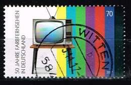 Bund 2017, Michel# 3329 O 50 Jahre Farbfernsehen - BRD