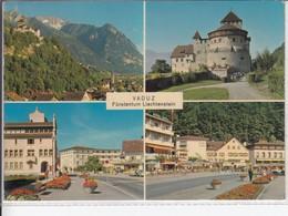 VADUZ  FÜRSTENTUM LIECHTENSTEIN MEHRFACHANSICHT  1974 NICE STAMP - Liechtenstein