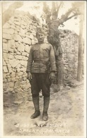 SPLIT SPALATO YUGOSLAV SOLDIER, HRVATSKA CROATIA, PC REAL FOTO, Uncirculated - Croatia