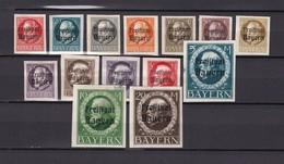 Bayern - 1920 - Michel Nr. 156/170 B - Bayern