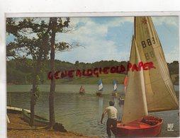 87 - LAURIERE - FOLLES - LAC DU PONT A L' AGE  LA BASE NAUTIQUE - Lauriere