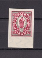 Bayern - 1920 - Michel Nr. 187 U - Bayern
