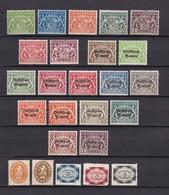 Bayern - Dienstmarken - 1916/20 - Sammlung - Bayern