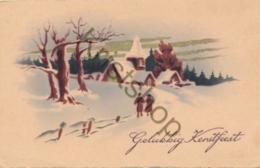 Vrolijk Kerstfeest - Merry Christmas - Joyeux Noël [C1071 - Weihnachten