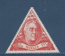 Monaco Poste Aérienne - PA YT N° 21 - Neuf Sans Charnière - 1946 - Poste Aérienne