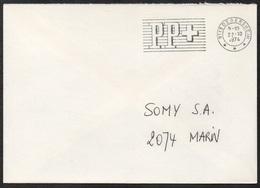 "DEGERSHEIM - ST GALLEN - SUISSE / 1974 OBLITERATION ""PP"" SUR LETTRE (ref 7863) - Marcophilie"