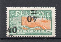 !!! PRIX FIXE : REUNION, N°97b SURCHARGE DOUBLE DONT UNE RENVERSEE NEUF* - Réunion (1852-1975)