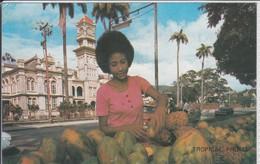 TRINIDAD & TOBAGO  TROPICAL FRUITS QUEENS ROYAL COLLEGE QUEENS PARK SAVANNAH WEST  NICE STAMP - Trinidad