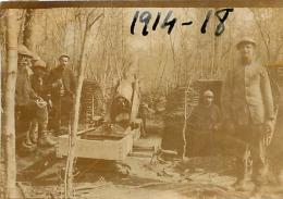 PHOTO ORIGINALE  SOLDATS ET CANON FORMAT  6.50 X 4.50 CM - War, Military