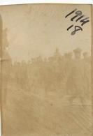 PHOTO ORIGINALE  PRISONNIERS DE GUERRE  FORMAT  6.50 X 4.50 CM - War, Military