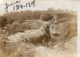 PHOTO ORIGINALE  TRANCHEES FORMAT  8.50 X 6.5 CM - War, Military