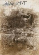 PHOTO ORIGINALE  TRANCHEES FORMAT  9 X 6 CM - War, Military