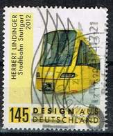 Bund 2017, Michel# 3349 O  Herbert Lindinger - Stadtbahn Stuttgart - BRD