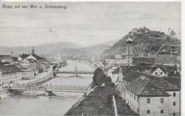 AK 0054  Graz Mit Der Mur Und Schlossberg - Verlag Schlauer Um 1907 - Graz