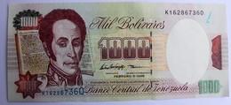 VENEZUELA.1000 Bolivares.5 Fevrier 1998.neuf.TBE. - Venezuela